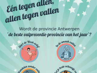 Affiche Week van de Valpreventie 2021 (Provincie Antwerpen) - A2