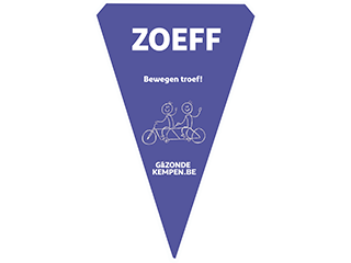 Fietsvlag Logo Kempen Zoeff