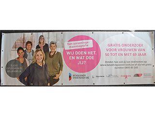Nadarbanner bevolkingsonderzoek borstkanker